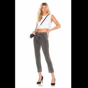 NWT Current/Elliot the vintage cropped slim jeans